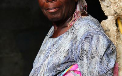 Seamstress in Cité Soleil, Port-Au-Prince, Haiti, 2012.