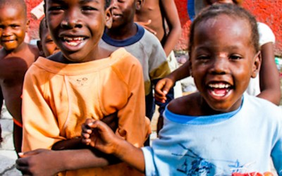 Regardless of the difficult situation in the country, children play without losing their childhood. Port-Au-Prince, Haiti, 2012.