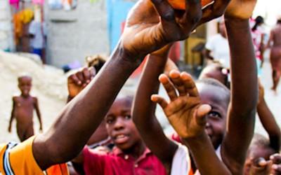 Always playing soccer, Cité Soleil, Port-Au-Prince, Haiti, 2012.