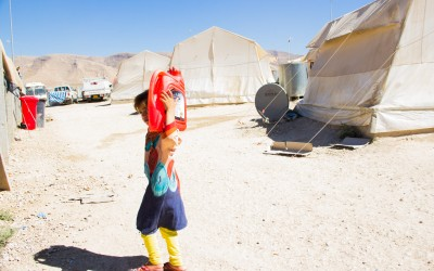 But the children who have lost family members or have relatives in complicated health situations often have to take responsibility for domestic activities, regardless of the degree of difficulty or age, Sharia Refugee Camp, Duhok, Iraq (Iraqi Kurdistan).