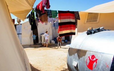 Sharia Refugee Camp, near Duhok, Iraq (Iraqi Kurdistan).
