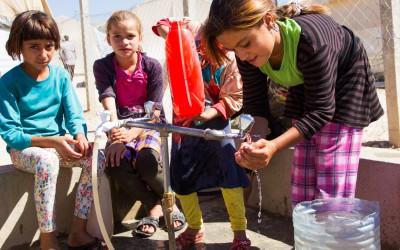 Sharia Refugee Camp, Duhok, Iraq (Iraqi Kurdistan).