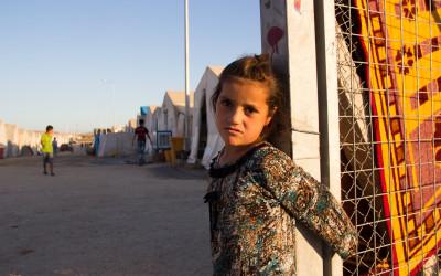 Child in Sharia Refugee Camp, Iraq Kurdistan.
