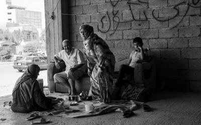 Syrian Refugees, Erbil, Iraq (Iraqi Kurdistan), Middle East.